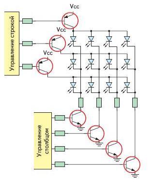 Транзисторы BISS в схеме